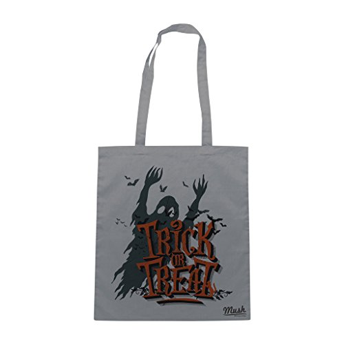 Borsa HALLOWEEN IS COMING - Grigio - MUSH by Mush Dress Your Style