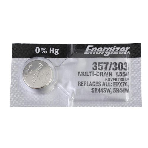 Energizer 357 Silver Oxide Battery