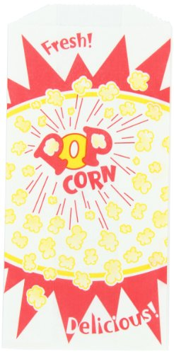 Burst Design - 1.5 oz Popcorn Bag - Burst Design, 1000 per Case