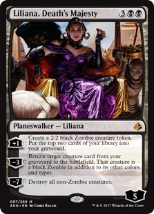 Wizards of the Coast Liliana, Death's Majesty - Amonkhet by Wizards of the Coast