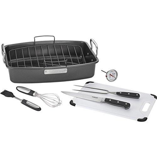 Cuisinart ASR-1713HPS 8-piece Ovenware Nonstick Roasting Set, Steel by Cuisinart