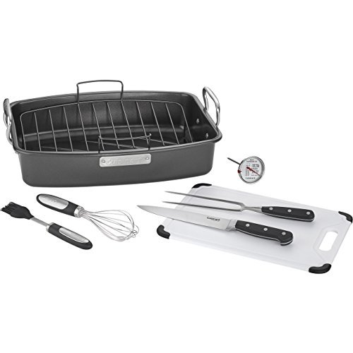 cuisinart roasting pan with rack - 9