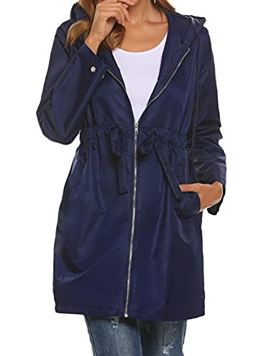 monogram rain coats for women - 7