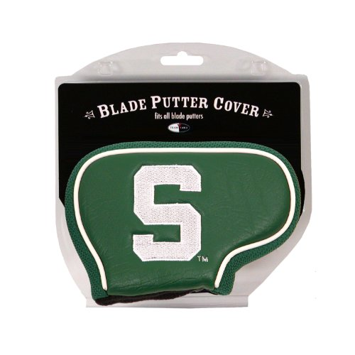 Team Golf NCAA Michigan State Spartans Golf Club Blade Putter Headcover, Fits Most Blade Putters, Scotty Cameron, Taylormade, Odyssey, Titleist, Ping, -
