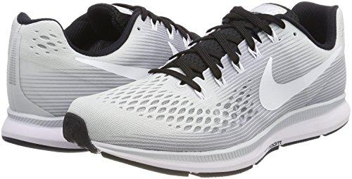 Zapatillas para 34 Plateado Blanco Pegasus Running Zoom Air TB de 002 Hombre Negro Platinum Puro Nike q8pwx1RXaa