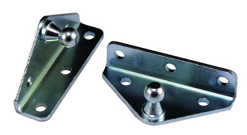 JR Products BR-12553 10mm Angled Gas Spring Mounting Bracket