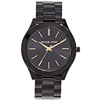 Michael Kors Women's Slim Runway Black Watch MK3221