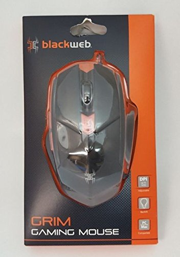 Black Web GRIM Gaming Mouse -