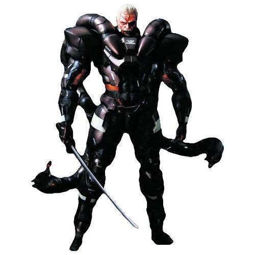 Square Enix Metal Gear Solid 2: Play Arts Kai Solidus Snake Action Figure (Solid Snake Square Enix)