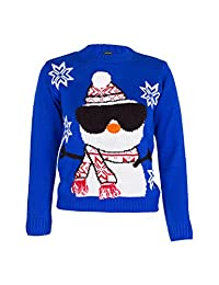 Noroze Boys Girls Unisex Christmas 3D Jumper Pullover