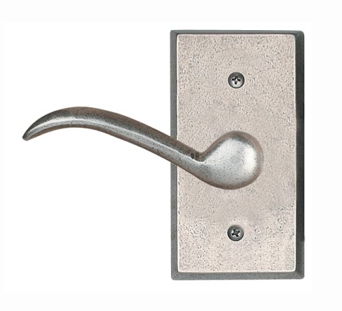 (AIW Distressed Nickel Sectional Single Trim Left Hand Dummy Lever)