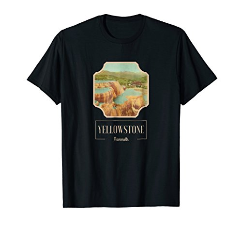 (Yellowstone National Park Mammoth Hot Springs Shirt)