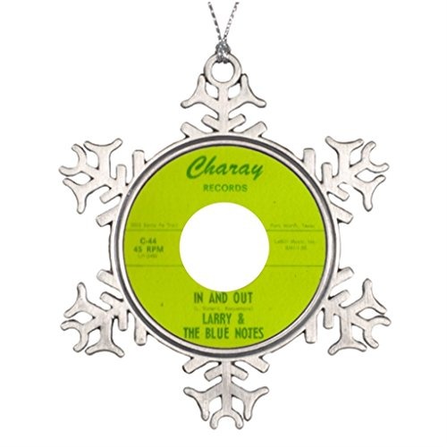 Xixitly Ideas For Decorating Christmas Trees Larry The Blue Notes - In And Out 60S Snowflake Ornaments Personalized]()