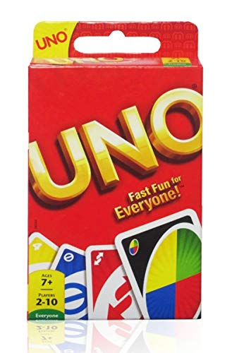 UNO Card Game, Basic Pack, Red