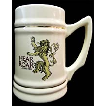 Game of Thrones Collectible Ceramic Stein, House Lannister, Beige
