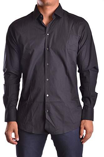 Cotton Dress Shirt Dolce & Gabbana (Dolce e Gabbana Men's Mcbi19497 Black Cotton Shirt)