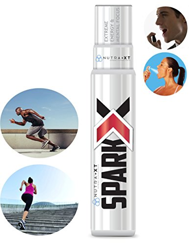 ENERGY & MENTAL FOCUS Spray - BOOST Performance, Endurance & Alertness - Pre-Workout - SAFE - B12, Theacrine, Carnosyn (Beta-Alanine), Green Tea Extract, Guarana FASTEST ABSORPTION (>98%)