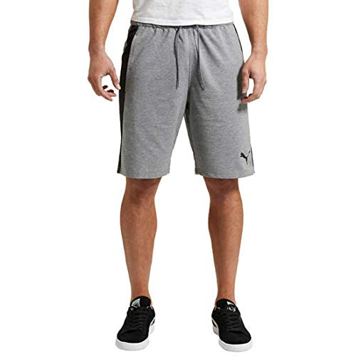 PUMA Men's Formstripe Short (XXL, Medium Gray Heather)