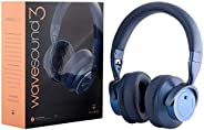 Paww WaveSound 3 Bluetooth 5.0 Headphones – Active Noise Cancelling Headphones / 16-Hour Battery Life with Pre