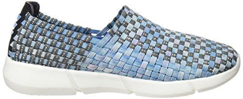 bass3d 041256, Zapatillas para Mujer Azul (Blue)
