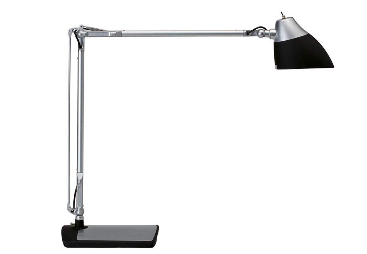 schwarz Standfu/á MAUL 82002-90 LED-Tischleuchte /'clipse