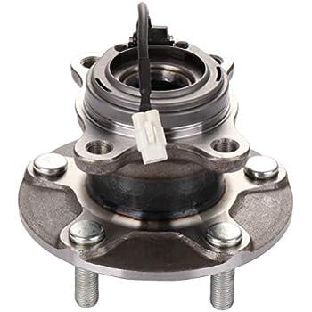 PAIR REAR Wheel Hub Bearing Assembly Fit SUZUKI SX4 2007-2013 AWD
