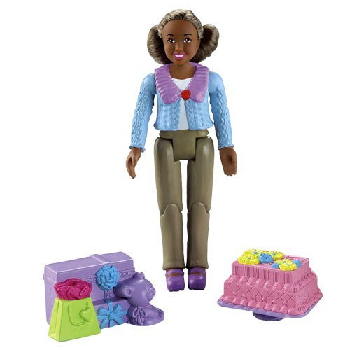 Loving Family Fisher Price African American Grandma (Fisher Price Loving Family African American Dolls)