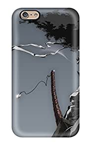 Premium Durable Afro Samurai Anime Game Fashion PC Iphone 6 Protective Case Cover