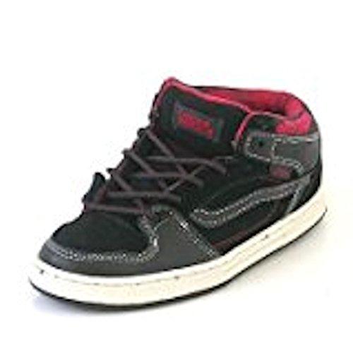 VANS Zapatillas - black - red