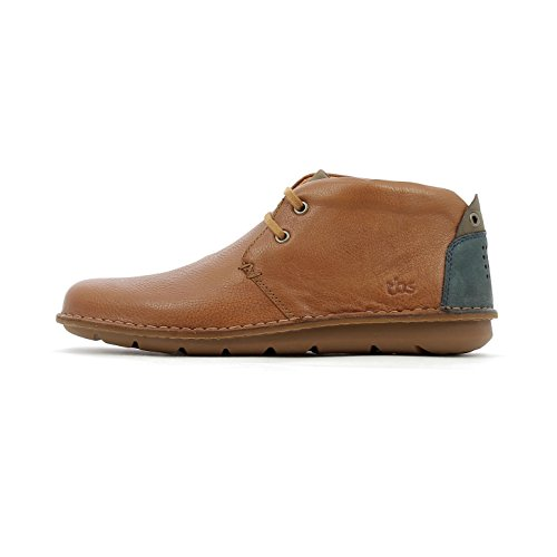 TBS Men's Ystoryh Derbys, Cognac/Ebene Brown (*Cognac + Ebene E85)