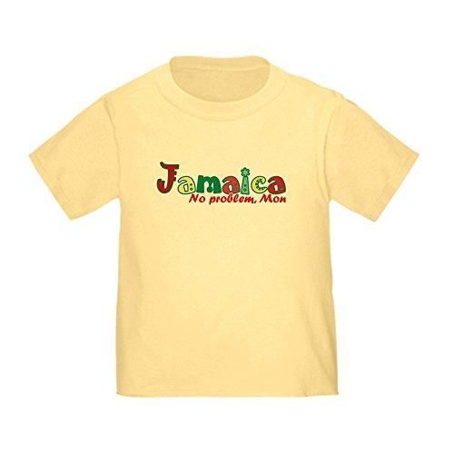 CafePress Jamaica No Problem Toddler T-Shirt Cute Toddler T-Shirt, 100% Cotton Daffodil Yellow