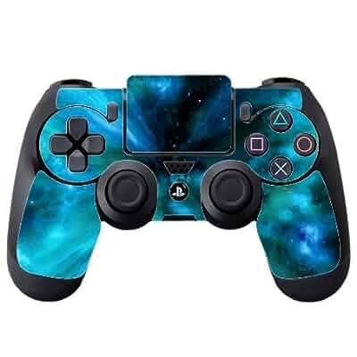 d0823dfddcb08 Amazon.com: Space Galaxy Stars Background PS4 DualShock4 Controller ...