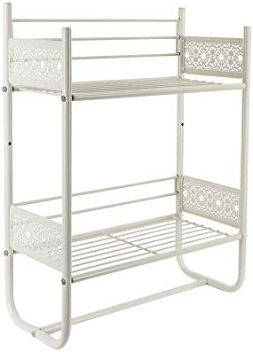 picture of Silverwood Filigree Bathroom Collection Wall Shelf, 18