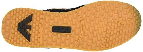 Armani 9350287p424 - Zapatillas Hombre Negro (Nero)