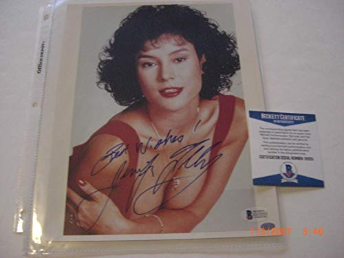 Jennifer Tilly Bride Of Chuckie Actress Sports Memorabilia Beckett/Coa Autographed Signed Autograph 8x10 -