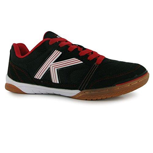 Kelme millénaire de football pour l'intérieur Futsal Ballon de football de baskets pour homme Blk/Wht/RD Sneakers