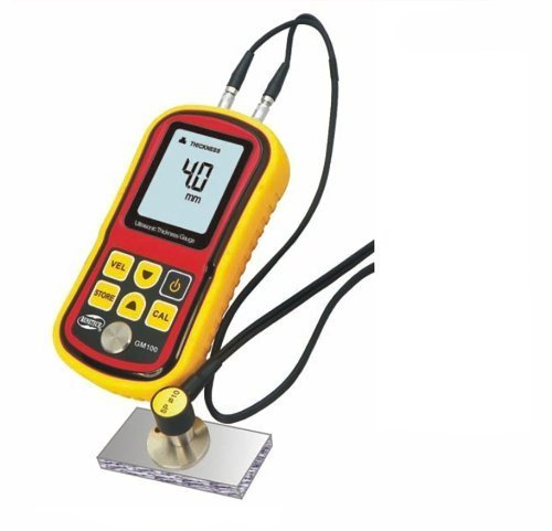 Tekit Gm100 Digital LCD Ultrasonic Thickness Meter Tester Gauge Metal Testering New by Tekit (Meters Ultrasonic Thickness)