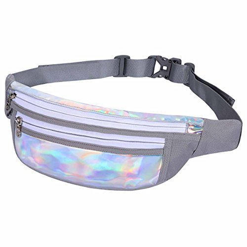Werocker Fanny Pack, Waist Pack for Concert or Rave, Reflective & Water Resistance