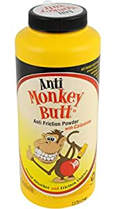 Anti-Monkey Butt Powder 6 Ounce Bottle of Calamine Powder