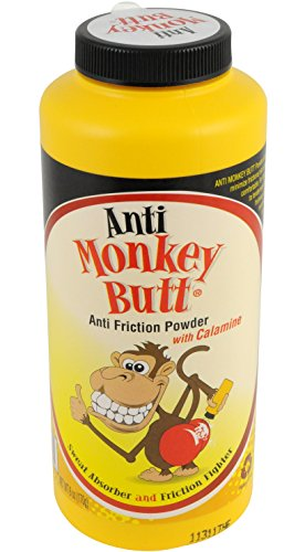 Anti-Monkey Butt Powder 6 Ounce Bottle of Calamine Powder