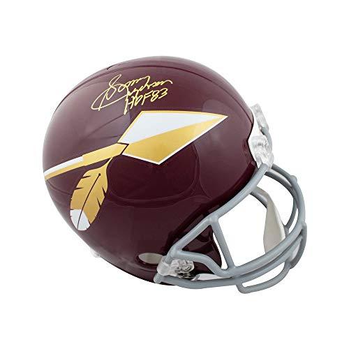Sonny Jurgensen HOF Autographed Redskins Spear Full-Size Football Helmet - JSA