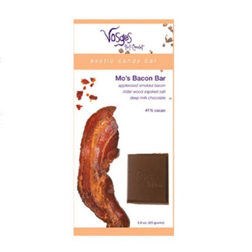 Chocolate and Bacon Candy Bar - Milk - Value Bundle of 6 (18 ounce) by Vosges Haut-Chocolat