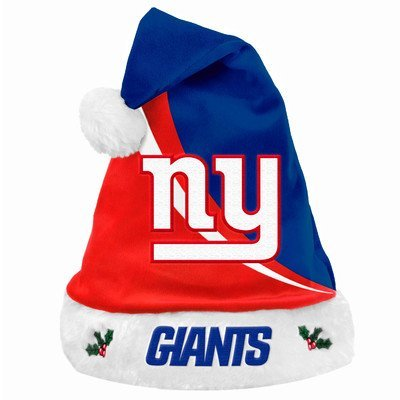 NFL Swoop Logo Santa Hat NFL Team: New York Giants