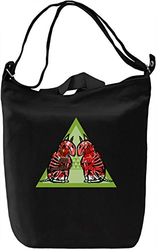 Trick Treat Borsa Giornaliera Canvas Canvas Day Bag| 100% Premium Cotton Canvas| DTG Printing|