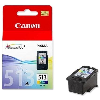 Canon CL-513 Cartucho de tinta original Tricolor para Impresora de Inyeccion de tinta Pixma MX320,330,340,350,360,410,420-MP230,240,250,252,260,270,27...