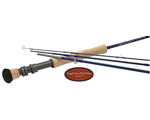 Temple Fork: TiCr X Series Fly Rod, TF 08 90-4X (Fly Series Ticr Rod)