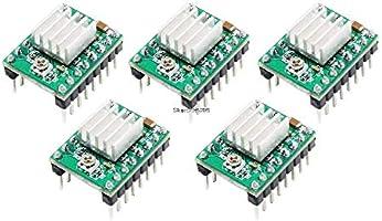 AiCheaX - Kit de impresora 3D CNC Mega 2560 R3 MK2B RAMPS 1.4 ...