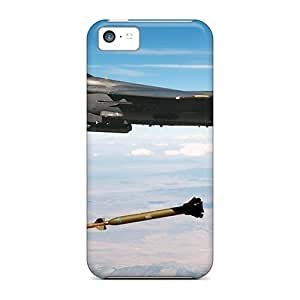 Cute Appearance Cover/Hard shell PwQbAAu437kOknm Jet Fighter Drops Missile For Iphone 5/5S Case Cover