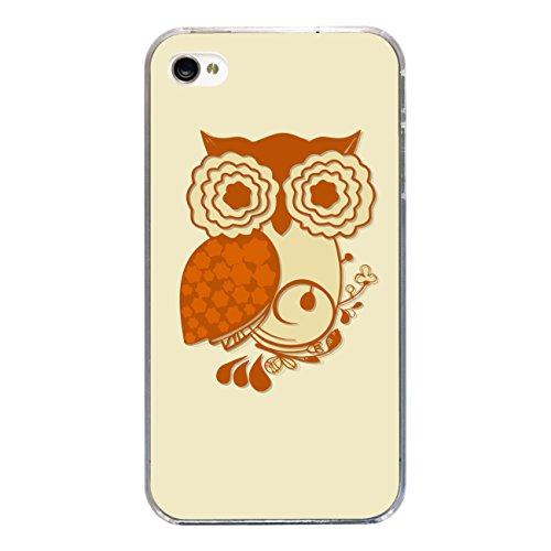 """Disagu Design Case Coque pour Apple iPhone 4s Housse etui coque pochette """"Eule"""""""