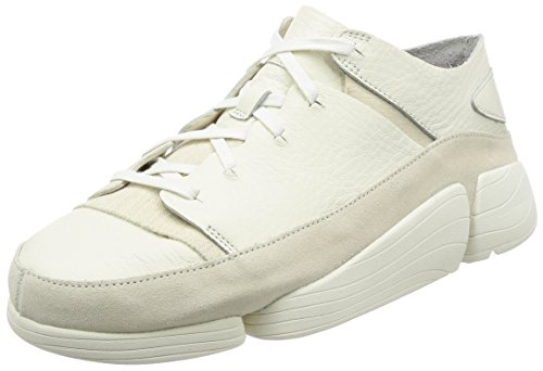 Clarks Herren Weiß Trigenic Evo Sneakers